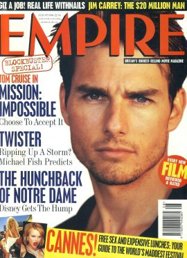 EMPIRE magazine AUGUST 1996 TOM CRUISE ref100127 Pre-owned in very good clean condition. Please see larger photo and full description for details.