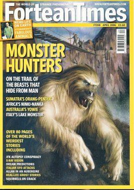 Fortean Times #208 magazine 2006 Monster Hunters