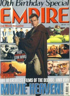 EMPIRE magazine June 1999 STAR WARS Ewan McGregor ref100131 Pre-owned in very good clean condition. Please see larger photo and full description for details.
