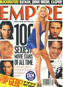 EMPIRE magazine August 1995 CAMERON DIAZ ref100135 Pre-owned in very good clean condition. Please see larger photo and full description for details.
