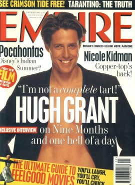 EMPIRE magazine November 1995 HUGH GRANT ref100137 Pre-owned in very good clean condition. Please see larger photo and full description for details.