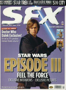SFX magazine May 2005 Doctor Who Daleks