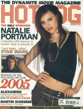 HOTDOG Movie magazine CHRISTMAS 2004 NATALIE PORTMAN ref101243 Very Good Condition.  This listing is for the Magazine ONLY. Sorry no extras