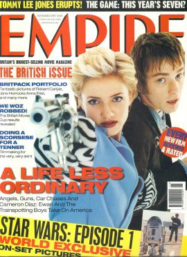 EMPIRE magazine November 1997 The British Issue ref100141 Pre-owned in very good clean condition. Please see larger photo and full description for details.