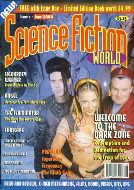 Science Fiction World #1 2000 magazine Sigourney weaver
