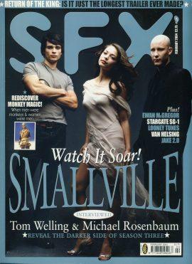SFX magazine FEB 2004 Tom Welling