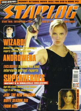 STARLOG magazine #20 2001 HARRY POTTER JK Rowling