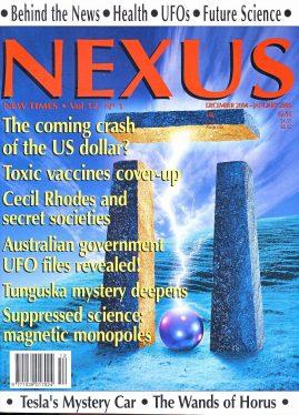NEXUS New Times magazine Toxic vaccines