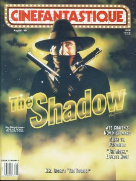 CINEFANTASTIQUE magazine 1994 The Shadow Alec Baldwin GIGER ref100380 Science Fiction