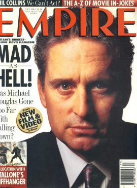 EMPIRE magazine July 1993 MICHAEL DOUGLAS ref100148 Pre-owned in very good clean condition. Please see larger photo and full description for details.