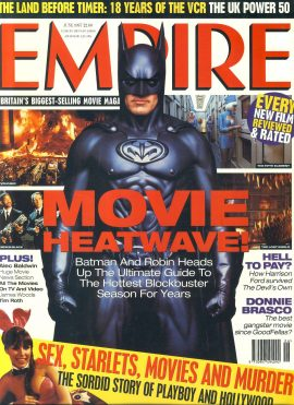 EMPIRE magazine February 1993 Tom Cruise +Jack Nicholson prints ref100152 Pre-owned in good condition with some marks - includes Jack Nicholson prints. Please see larger photo and full description for details.