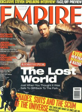 EMPIRE magazine Aug 1997 Jeff Goldblum THE LOST WORLD ref100153 Pre-owned in very good clean condition. Please see larger photo and full description for details.