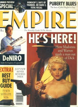 EMPIRE magazine July 1990 MADONNA