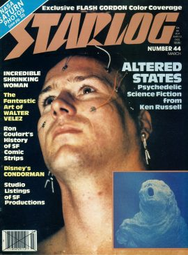 STARLOG magazine #44 1981 ALTERED STATES Walter Velez