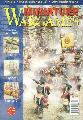 Miniature WARGAMES #266 Poland ALGECIRA Raphia (2) KINSALE Russo-Japanese (2) DON FEATHERSTONE magazine ref101378 Pre-owned in very good condition. Magazine ONLY