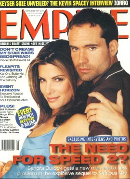 EMPIRE magazine Sept 1997 SANDRA BULLOCK Speed 2 ref100159 Pre-owned in very good clean condition. Please see larger photo and full description for details.