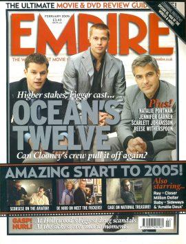 EMPIRE magazine 2005 Matt Damon