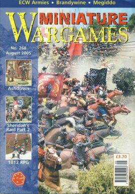 Miniature WARGAMES #268 ASHDOWN Sheridan's Raid part 2 1812 RPG ECW Armies BRANDYWINE Megiddo magazine ref101379 Pre-owned in very good condition. Magazine ONLY