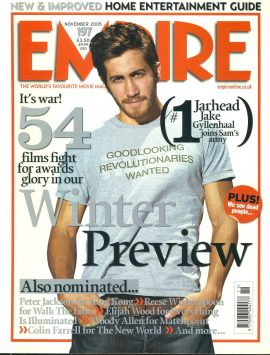 EMPIRE magazine NOV 2005 Jake Gyllenhaal ref100168 Pre-owned in very good clean condition. Please see larger photo and full description for details.