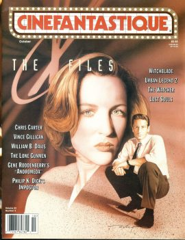 CINEFANTASTIQUE magazine X Files
