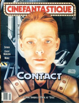 CINEFANTASTIQUE magazine Vol.29 No.2 Jodie Foster CONTACT Shawuille O'Neal