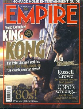 EMPIRE magazine OCT 2005 King Kong