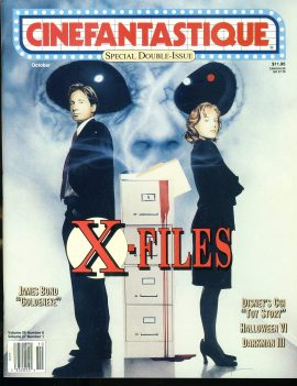 CINEFANTASTIQUE magazine X-Files