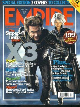 EMPIRE magazine APRIL 2006 X3 Halle Berry