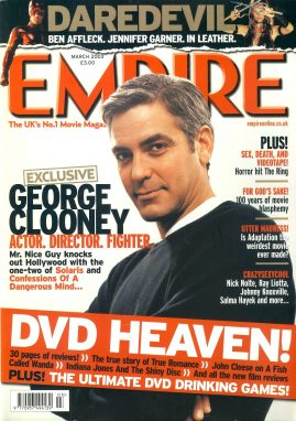 EMPIRE magazine MARCH 2003 George Clooney