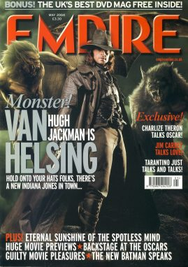 EMPIRE magazine MAY 2004 Hugh Jackman Van Helsing ref100177 Pre-owned in very good clean condition. Please see larger photo and full description for details.
