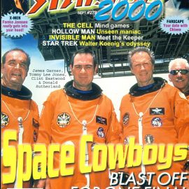 STARLOG 2000 magazine #278 Space Cowboys James Garner