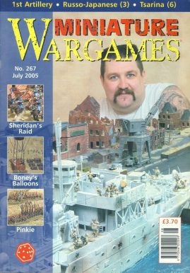 Miniature WARGAMES #267 Sheridan's Raid BONEY'S BALLOONS Pinkie RUSSO-JAPANIES (3) Tsarina (6) magazine ref101380 Pre-owned in very good condition. Magazine ONLY
