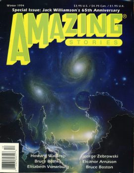 Amazing Stories Special Issue 1994 Jack Williamson's 65th Anniversary magazine ref101031 Pre-owned in good condition. Magazine ONLY