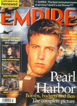 EMPIRE magazine JULY 2001 Ben Affleck