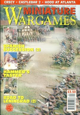 Miniature WARGAMES #251 Spanish Succession (2) HAMMER'S TASTER Road to Leningrad (2) magazine ref101381 Pre-owned in very good condition. Magazine ONLY