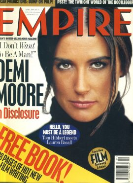 EMPIRE magazine APRIL 1995 Demi Moore in Disclosure ref100188 Pre-owned in good clean condition. Please see larger photo and full description for details.