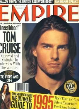 EMPIRE magazine FEB 1995 Tom Cruise Interview with Vampire ref100190 Pre-owned in very good clean condition. Please see larger photo and full description for details.