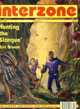 interzone #141 1999 magazine Hunting the Slarque by Eric Brown