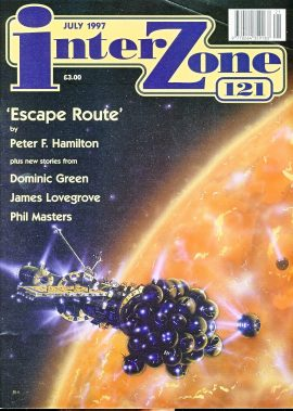 interzone magazine #121 Escape Route by Peter F Hamilton sci-fi ref100820 Very good condition. Please see larger photo and full description for details.