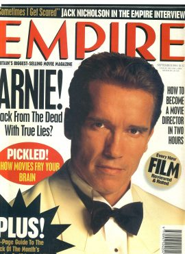 EMPIRE magazine SEPT 1994 Arnold Schwarzenegger TRUE LIES ref100192 Pre-owned in good condition. Please see larger photo and full description for details.