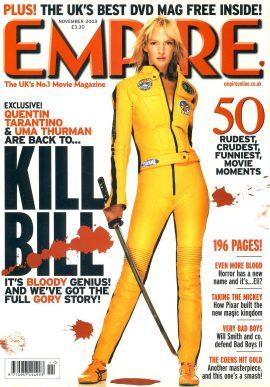 EMPIRE magazine NOV 2003 Uma Thurman