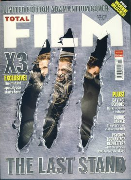 TOTAL FILM magazine #115 2006 x3 THE LAST STAND ref101057 Pre-owned in very good condition. Magazine ONLY