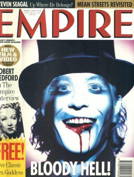 EMPIRE magazine 1998 March with Sex Goddess Prints GARY OLDMAN ref100205 Pre-owned in very good clean condition still with prints inside. Please see larger photo and full description for details.