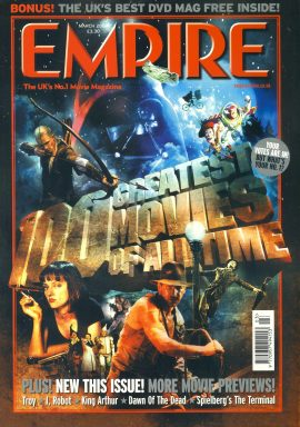 EMPIRE magazine MARCH 2004 100 Greatest Movies of All Time ref100206 Pre-owned in very good clean condition. Please see larger photo and full description for details.