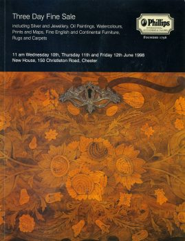 Phillips CHESTER 1998 Auction Catalogue silver