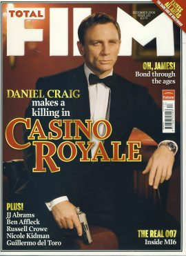 TOTAL FILM magazine #122 2006 Daniel Craig CASINO ROYALE ref101061 Pre-owned in very good condition. Magazine ONLY