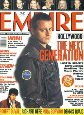 EMPIRE magazine JULY 1998 Matt LeBlanc