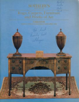 Sotheby's CHESTER 1989 Auction Catalogue rugs