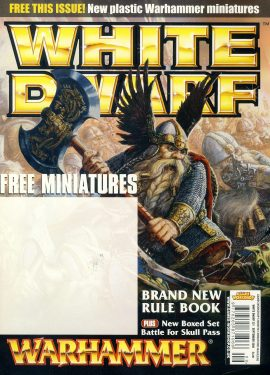 White Dwarf magazine #321 WARHAMMER Battle for Skull Pass ref100552 Pre-owned in very good condition. Magazine ONLY