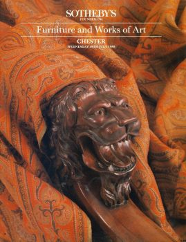 Sotheby's CHESTER 1989 Furniture & Works of Art auction catalogue 68 pages ref101510 Very Good Condition. This is a pre-owned item. Prices pen annotations throughout. Good reference source.